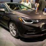 Новый Chevrolet Cruze 2016 модельного года