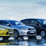 Весь модельный ряд Форд 2017
